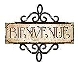 Bienvenue French Door Sign