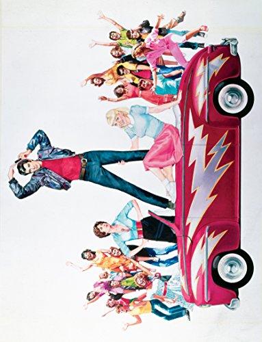 Grease 1978 Movie Poster John Travolta