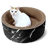 ScratchMe Cat Scratcher Post & Board, Round Cat