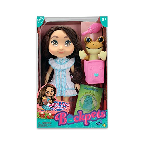 Tree House Kids Marisol & Paco Puerto Rico Doll Female Toy, Skin Tone, 9.5'' x 15'' by Tree House Kids