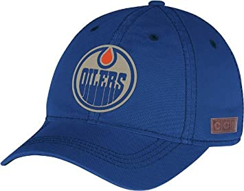 Image Unavailable. Image not available for. Colour  Edmonton Oilers CCM  Vintage NHL Adjustable Slouch Hat 13f3d47267db