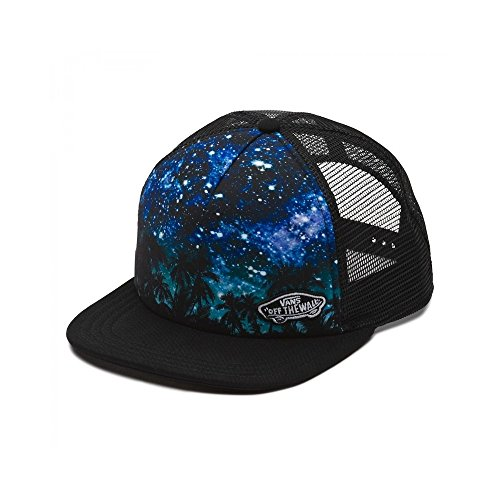 (Vans Women's Beach Girl Trucker Hat Cap - Palm Night)
