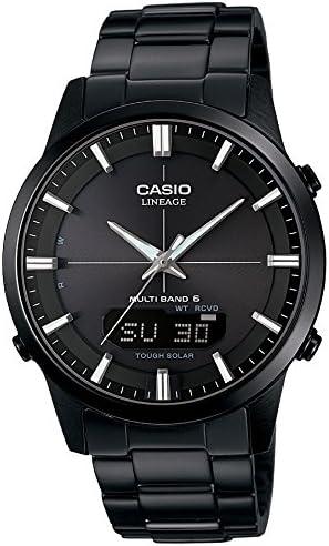 [カシオ] 腕時計 リニエージ 電波ソーラー LCW-M170DB-1AJF ブラック