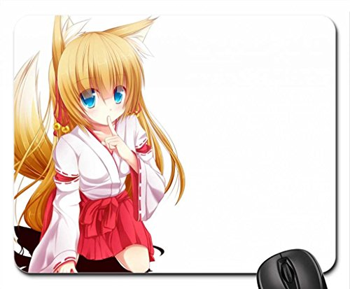 Original Mouse Pad, Mousepad (10.2 x 8.3 x 0.12 inches) (Anime With Blonde Hair And Blue Eyes)