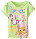 Nickelodeon Girls' Bubble Guppies Short-Sleeve T-Shirt