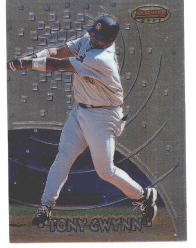 - 1997 Bowman's Best #29 Tony Gwynn - San Diego Padres (Baseball Cards)
