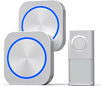 Cambond Waterproof Wireless Doorbell Kit with LED Flash