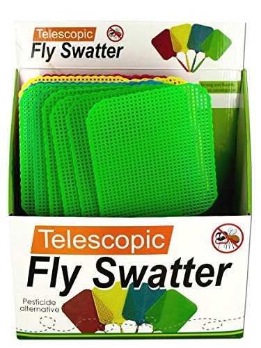 Kole Imports OS184 Giant Telescopic Fly Swatter Display -