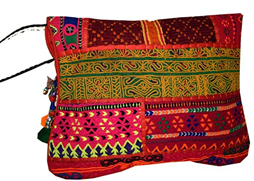 Tribal Asian Textiles, Poschette giorno donna Multi-Color