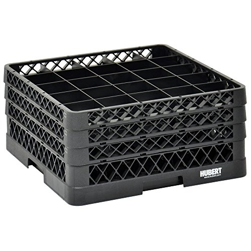 Vollrath Traex Black Plastic 25 Compartment Dishwashing Rack