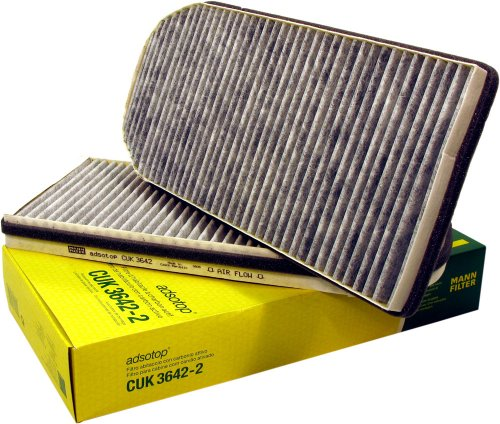 Mann-Filter CUK 3642-2 Carbon Activated Cabin Filter
