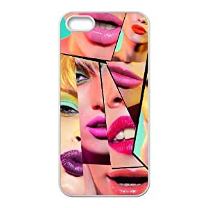 Lipstick Original New Print DIY Phone Case for Iphone 5,5S,personalized case cover ygtg554982