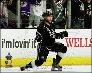 Drew Doughty Celebrates his goal Game 4 of the 2012 Stanley Cup Finals Art Poster PRINT Unknown 10x8