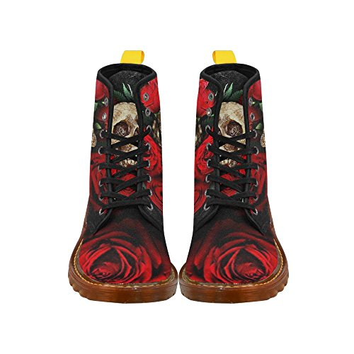 D-Story Shoes Lace up Fahion Boots for Women Multicoloured2