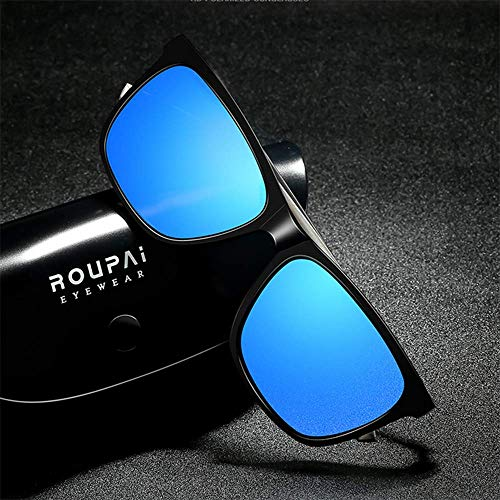 Hue Gafas WFFH Unisex Gafas Magnesio De Gafas De Montar Blue Y Al Hombres UV400 Aluminio Conducción De Mujeres De Libre Sol De Protección Sol Polarizadas Aire Estilo wHxHrvXq