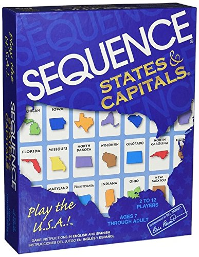 Jax Sequence States and Capitals Sequence Travel Game