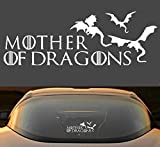 "9"" Game Of Thrones Mother Of Dragons Car Window Laptop Vinyl Decal Sticker"
