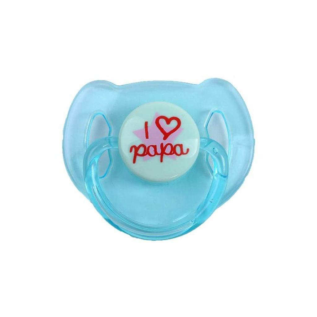 TERABITHIA Reborn Baby Dolls Accessories 4pc Magnetic Pacifier