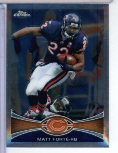 2012 Topps Chrome NFL Football Card # 69 Matt Forté Chicago Bears