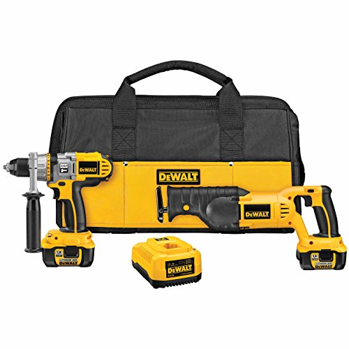 DEWALT-DCK271L-18-Volt-Cordless-XRP-Li-lon-Hammerdrill-and-Reciprocating-Saw-Combo-Kit
