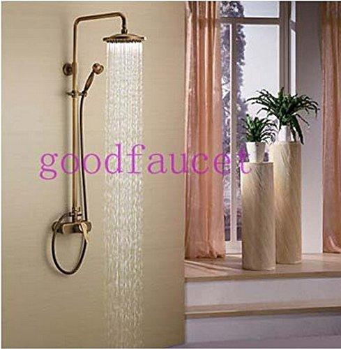 GOWE Bathroom shower faucet antique bronze bathroom shower set faucet mixer tap wall mount shower 0
