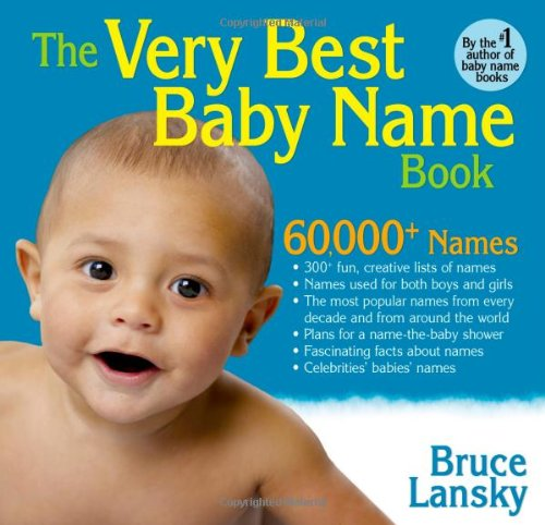 Very Best Baby Name Book product image
