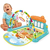 Techhark Kick and Play Multi-Function ABS High Grade Plastic Piano Baby Gym and Fitness Rack