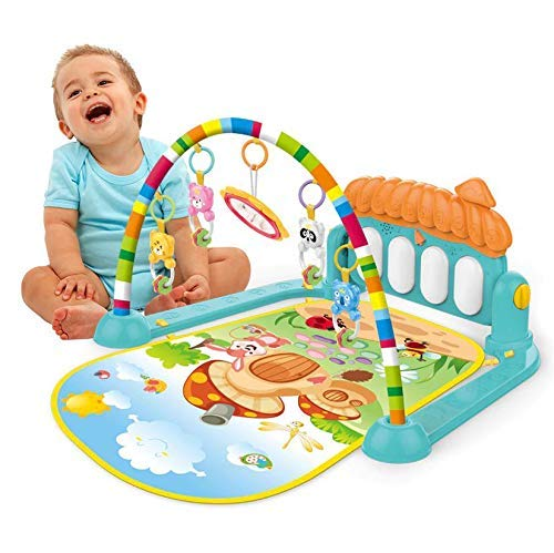 Mixen Kick & Play Multi-Function Piano Baby Gym & Fitness Rack (Multi-Colored)