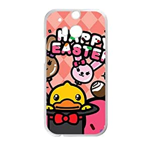 DAZHAHUI Lovely B.Duck happy Easter fashion cell phone case for HTC One M8