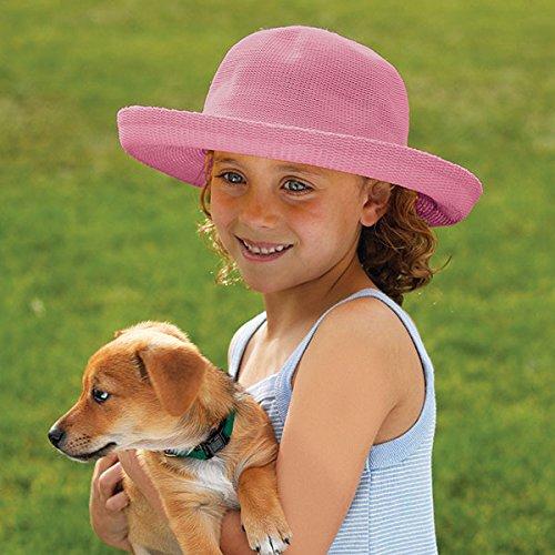 Wallaroo Hat Company Women's Petite Victoria Sun Hat – Ultra-Lightweight, Broad Brim, Petite Style, Designed in Australia