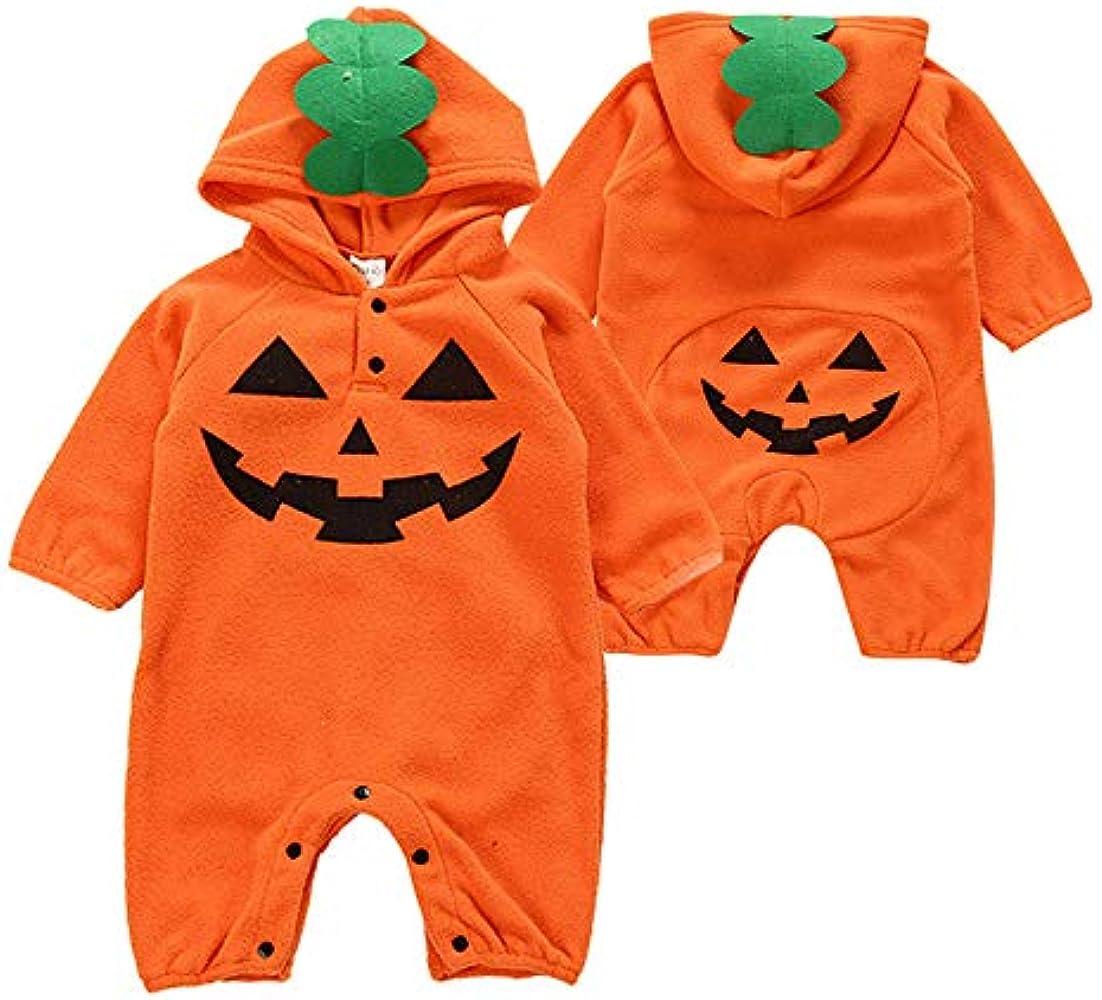 Bodies Calabaza Disfraz Halloween para Bebé Niños Niñas, Mono para ...