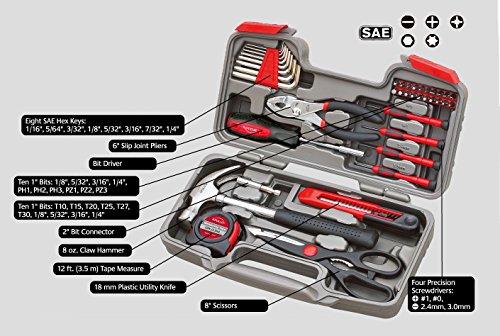 Apollo Tools DT9706 BL 39Piece General Tool Set