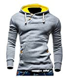 Cozy Age Mens Button Hoodie