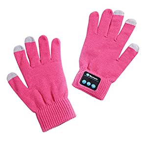 Zandreal Bluetooth Touchscreen Gloves Winter Warm Knitted Gloves Warmer with Calling Listening Music