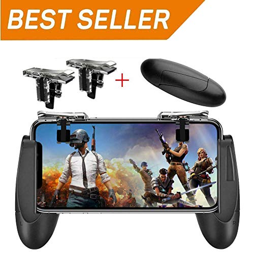 Mobile Game Controller [Upgrade Version] Mobile Gaming Trigger for PUBG/Fortnite/Rules of Survival...
