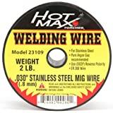 Hot Max 23109 .030-Inch Stainless Steel ER 308 MIG Wire – 2#