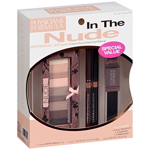 Physicians Formula Makeup Shimmer Strips Kit, Nude Eyes