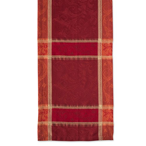 DII 14x72 Cotton Table Runner, Harvest Wheat - Perfect for Fall, Thanksgiving, Catering Events, Dinner Parties, Special Occasions or Seasonal Décor by DII (Image #3)