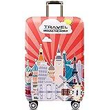 غطاء أمتعة مرن سميك مشهور عالميًا لجراب السيارة يوضع على 25-28 جراب واقٍ لغطاء السفر مم