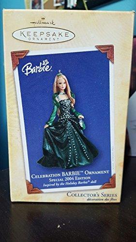 Hallmark Keepsake Ornament - Celebration Barbie 2004 (QX8604)