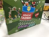 Mouttop Advent Calendar,24 Days Christams Advent Calendar with Pandora Charms Fashion Jewellery 22 Charms with 1 Bracelet and 1 Necklace
