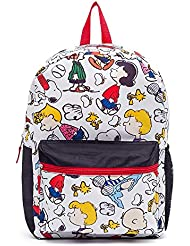 Peanuts all Over Print 17 in. Kids backpack