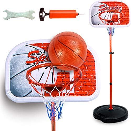 子供のバスケットボールラックバスケットボールは、屋内子供のフィットネス・スポーツおもちゃ幼稚園教材をラック昇降可能