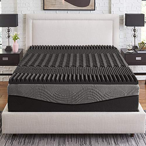 Nest Bedding FLIP, Amazon-Exclusive Double Sided Hybrid Bed in a Box, Cooling Gel Foam and Caliber Coil, CertiPUR-US, 10-Year Warranty, Made in The USA