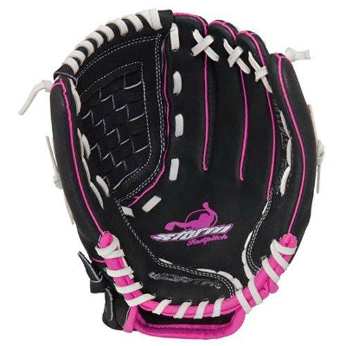Worth Women's Storm Fast Pitch Softball Glove, Left Hand, 11.5-Inch, Black