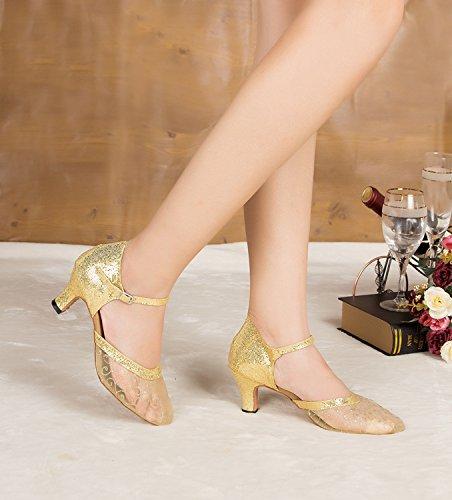 Minitoo ,  Damen Tanzschuhe , Gold - gold - Größe: 35