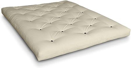 Futononline - Futón Naoko de algodón con 6 capas: Amazon.es: Hogar