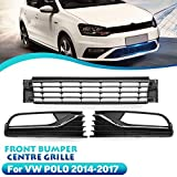 SXGKYY Front Grill Grill Racing, Fit for VW Polo