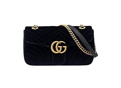 0d90b30225435c NEW-Gucci GG Marmont medium velvet bag: Amazon.co.uk: Shoes & Bags