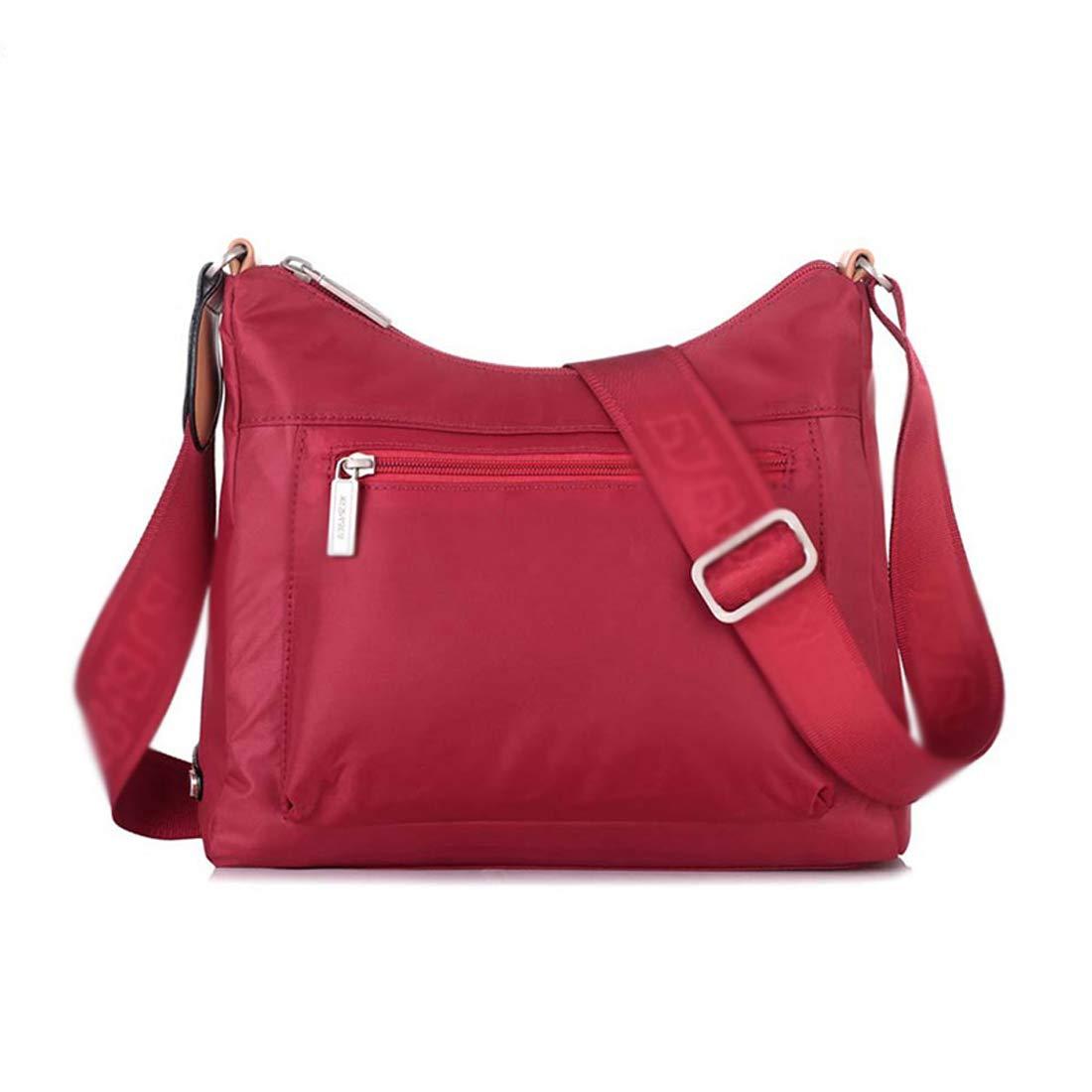 RMXMY Fashion Canvas Bag Female Casual Waterproof Oxford Cloth Travel Diagonal Simple Personality Creative Wild Backpack Travel Bag